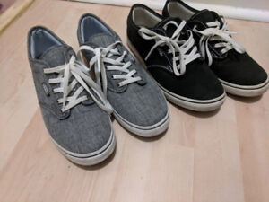 Vans and new balance shoes- women's- 7.5 size