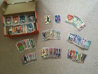 Fantastic selection of Match Attax cards, sets, tin