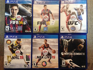 Selling PS4 games - Pic included