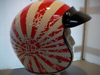 Brand New Bobber Helmets, Different Design's Shown In Ad.