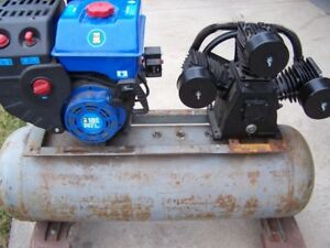 GAS AIR COMPRESSOR 10HP 40 GALLON