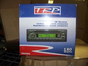 TRP CD Receiver Radio AM/FM CD Player MP3 180 Watts # TR0001 New