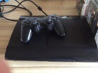 PS3 plus leads and controller