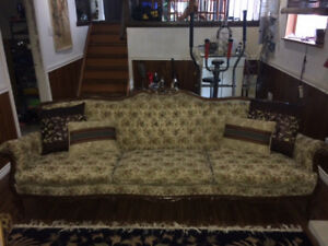 Victorian Style Sofa and Chair Set