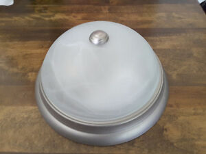 "Flush Mount 12"" Ceiling Dual  Light with Bonus!!!"