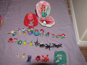 FOR SALE LOT OF LITTLE MERMAID TOYS