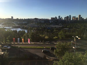 2-bedroom apartment close to the UofA, beautiful Downtown view