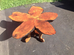 Coffee Table - Maple slab with resin finish Peterborough Peterborough Area image 1