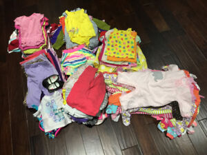 200+ Articles of Girls Clothing Sizes 0m to 24m