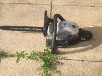 Macallister chainsaw starts first time £40