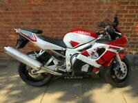 YAMAHA YZF600 R6 5EB 2 OWNERS LOW MILEAGE ORIGINAL UNMOLESTED BIKE SUPERB