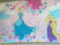 Princess double duvet & 2 pillowcases