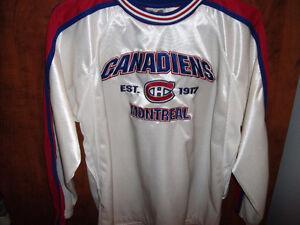 Chandail spécial du Canadiens  pour les 100 ans de la NHL