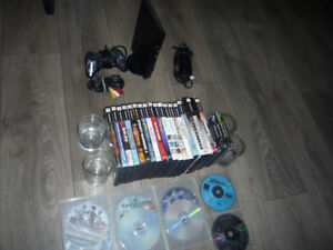 PS2 console + PS1 / PS2 games for sale