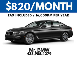 2018 BMW 530xi - $820 TAX IN - 48 Months - $0 Cash Down