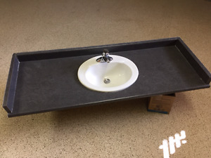 Bathroom Vanity Counter Top with Sink & Faucet
