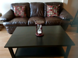 Sofa plus coffee table bundle