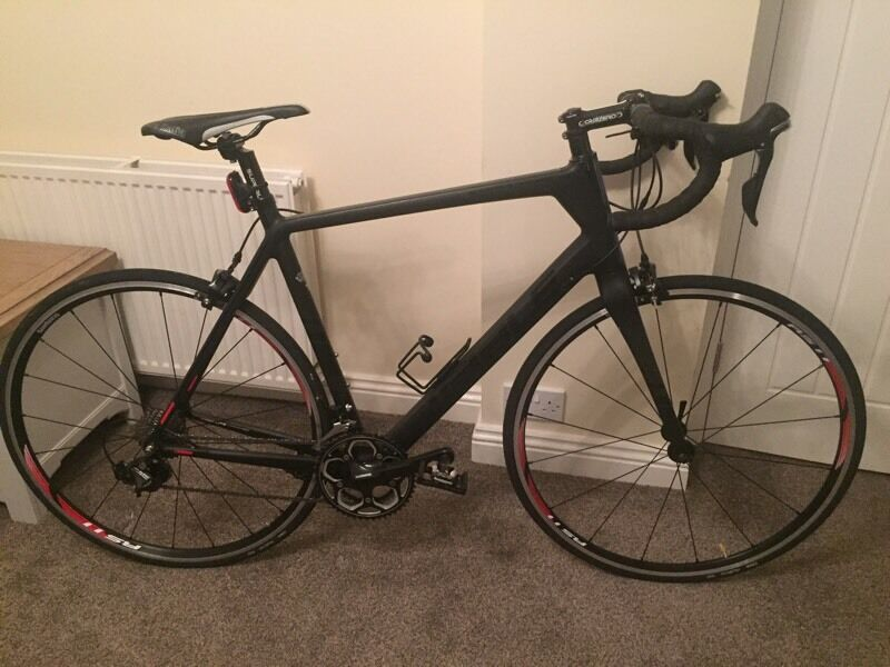 Ribble full carbon fibre race bike - rode once! Absolutely brand new.