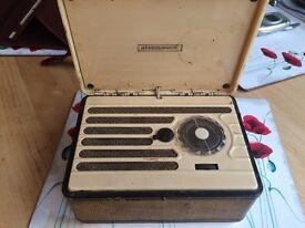 Marconiphone portable valve radio