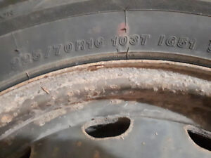 Winter tires for sale 16 inch and rims lots of tread