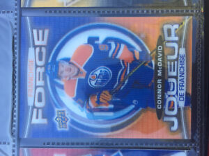 Rare Connor McDavid 'Franchise Force' hollograph card