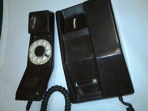 Ancien téléphone à roulette