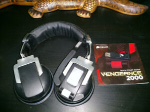 Corsair Vengeance 2000 Wireless 7.1 Headset Barely Used