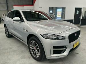 2019 Jaguar F-PACE X761 MY19 R-Sport Silver 8 Speed Sports Automatic Wagon Boolaroo Lake Macquarie Area Preview