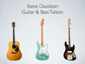 GUITAR LESSONS with STEVE DAVIDSON ( former guitarist with IAN BROWN of THE STONE ROSES)