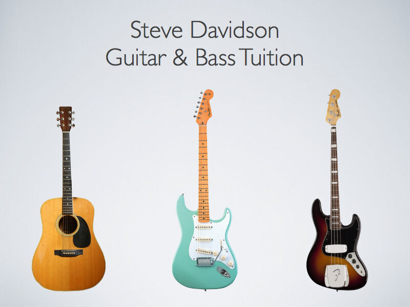 Guitar Lessons With Steve Davidson Former Guitarist With Ian Brown