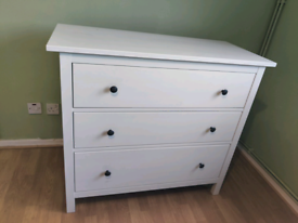 Ikea hemnes drawers 108cm x 96cm white