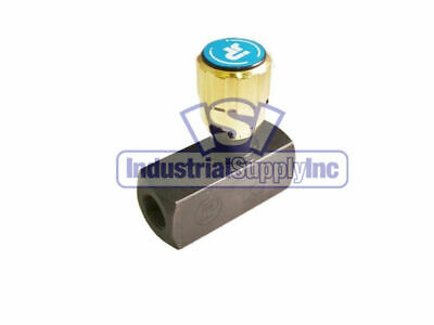 Flow Control Valve Hydraulic 38 Adjustable Npt Threads