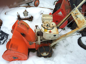 Parting out 624 Ariens snowblower