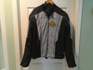 Men's Mesh Riding Jacket