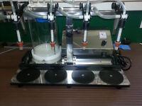 ENOLMASTER 4-Spout Vacuum Filling Machine