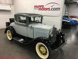 1931 Ford Model Model A Deluxe Original Rumble Seat & Luggage