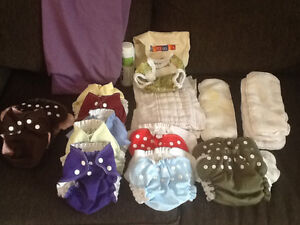11 AMP cloth diapers