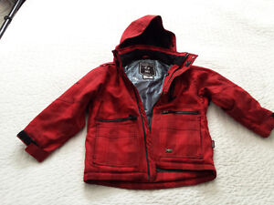 boys small 6/7 rip zone winter jacket