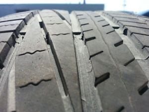 Tires used 245/45/R19 Goodyear