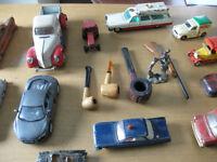 lot de vieille auto de collection