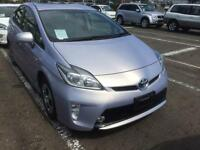 2014/14 TOYOTA PRIUS PURPLE COLOR S GRADE, FRESH IMPORT FROM JAPAN