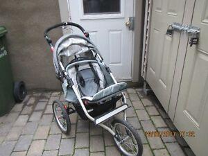 Remorque vélo enfant - Poussette