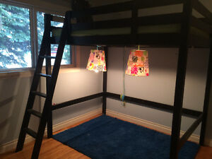 Double/Full Size IKEA Loft Bed in Great Condition