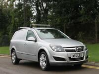 2011 61 VAUXHALL ASTRA VAN LOW MILES SPORTIVE MODEL IN SILVER