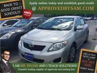 "Silver Streak Corolla - TEXT ""AUTO LOAN"" TO 519 567 3020"