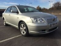 2004 TOYOTA AVENSIS 2.0 D-4D T3-X LOW MILES DRIVES GREAT!!!!!