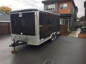16' Enclosed Utility Trailer For Sale Penticton