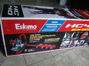 NEW IN BOX Eskimo Propane Auger HC40 Fishing