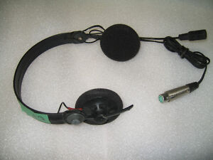 1 used Sennheiser HMD 410 headset (also works with Clear Comm)