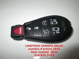 CHRYSLER REPLACEMENT 7 BUTTON KEY KEYLESS CASE